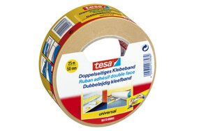 TESA UNIVERSAL DOUBLE SIDED TAPE 50mmx25m